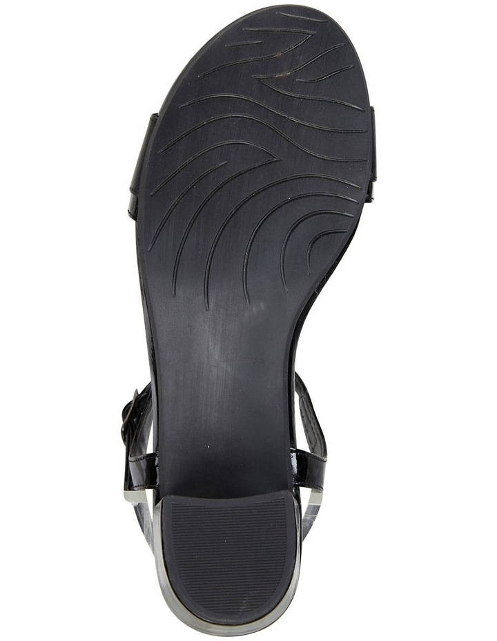 Ella Black Glove/Patent Sandal image 6