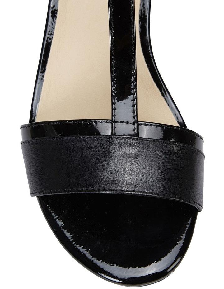 Ella Black Glove/Patent Sandal image 7
