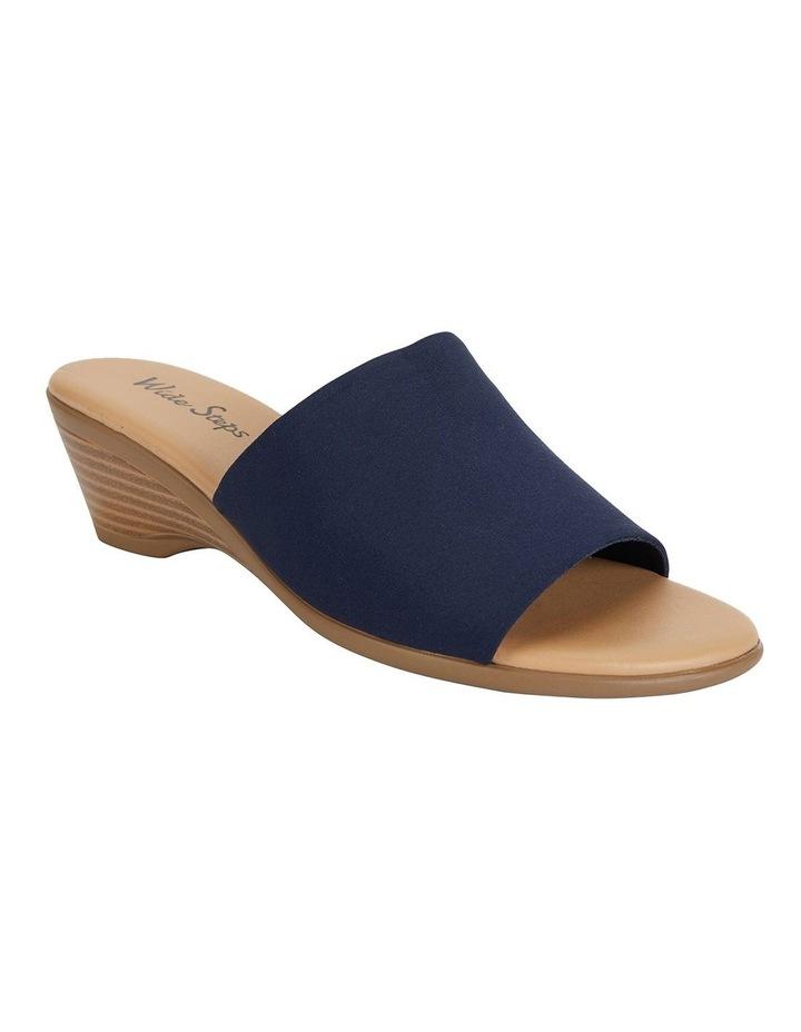 Orient Navy Fabric Sandal image 2