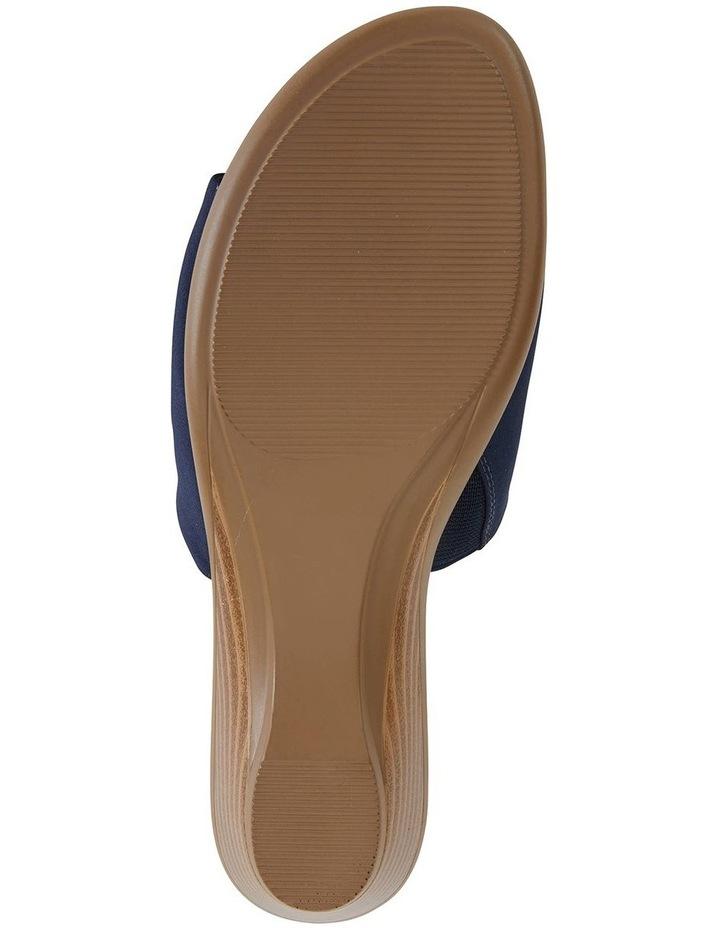 Orient Navy Fabric Sandal image 5