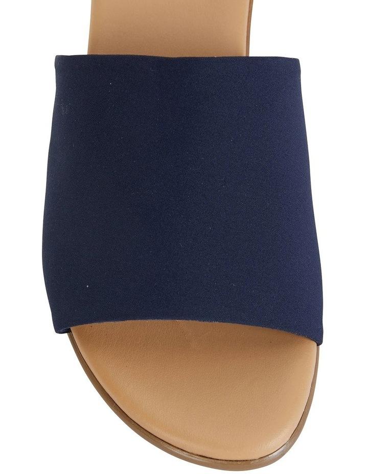 Orient Navy Fabric Sandal image 7