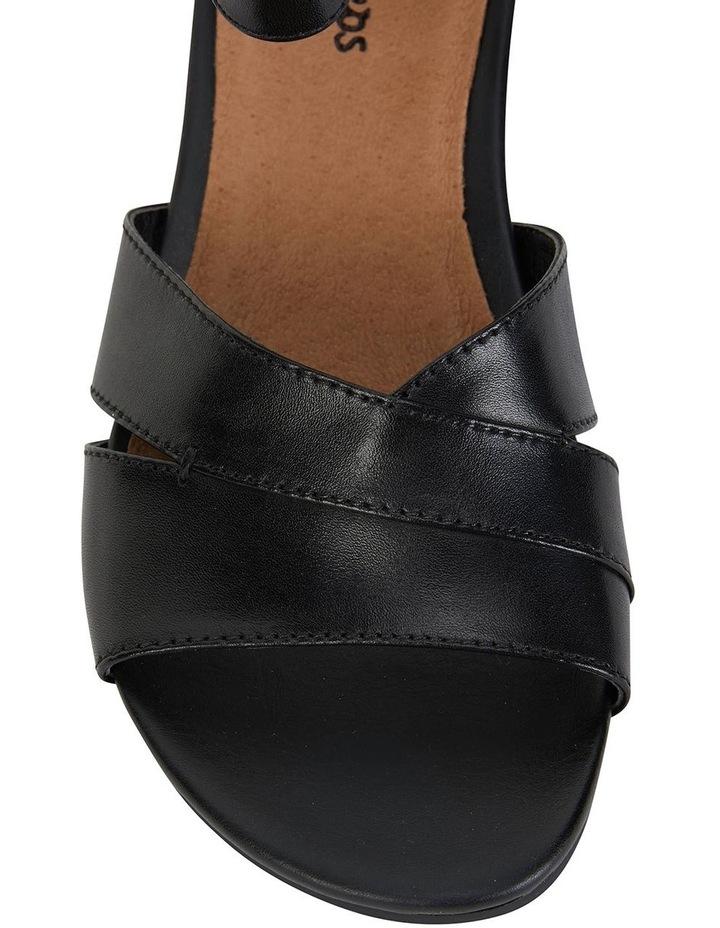 Martha Black Glove Sandal image 7