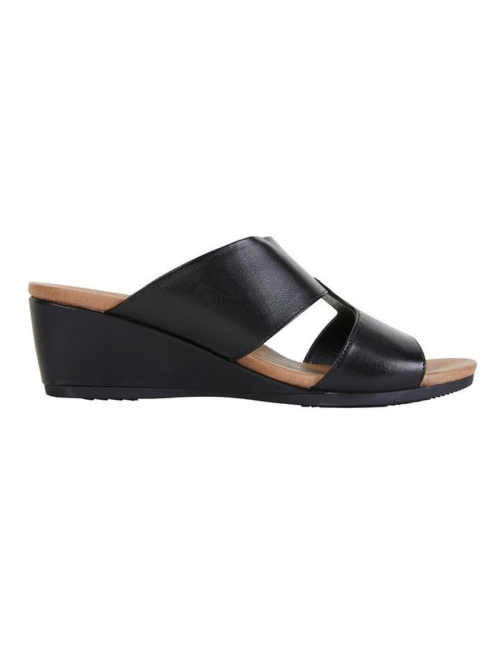 Melanie Black Glove Sandals image 1