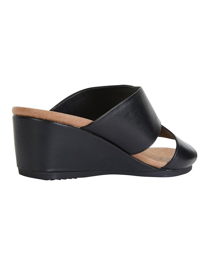 Melanie Black Glove Sandals image 4