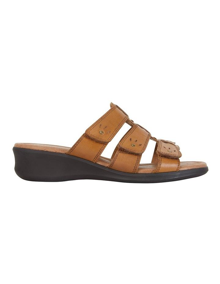 Pamela Cognac Glove Sandal image 1
