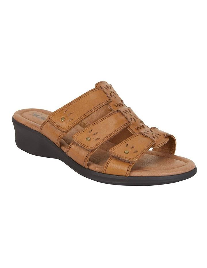 Pamela Cognac Glove Sandal image 2
