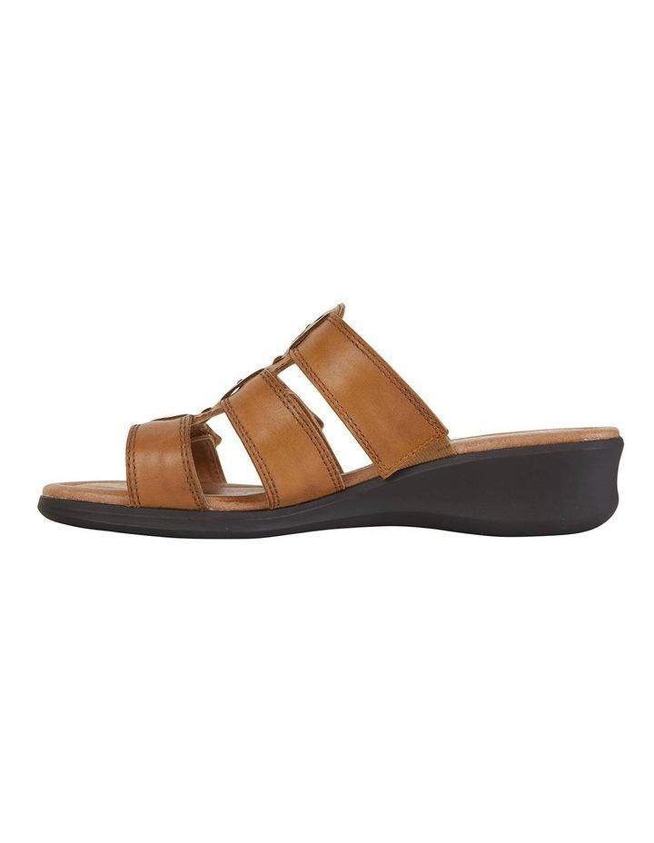 Pamela Cognac Glove Sandal image 3