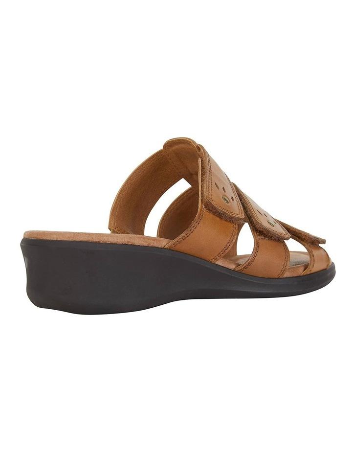 Pamela Cognac Glove Sandal image 4