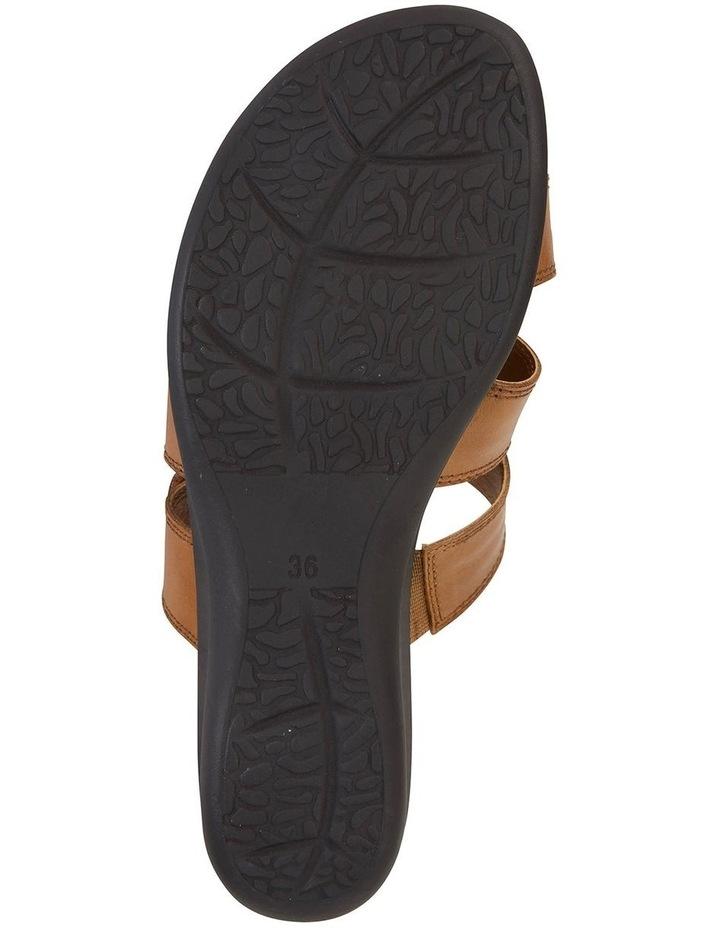 Pamela Cognac Glove Sandal image 5