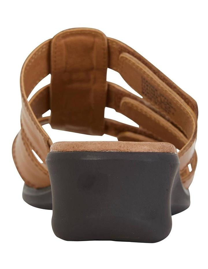 Pamela Cognac Glove Sandal image 6