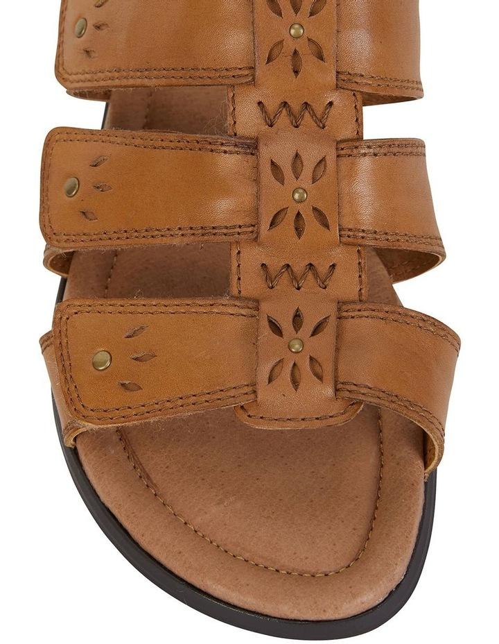 Pamela Cognac Glove Sandal image 7