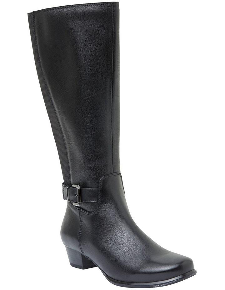 Diesel Black Glove Boots image 2