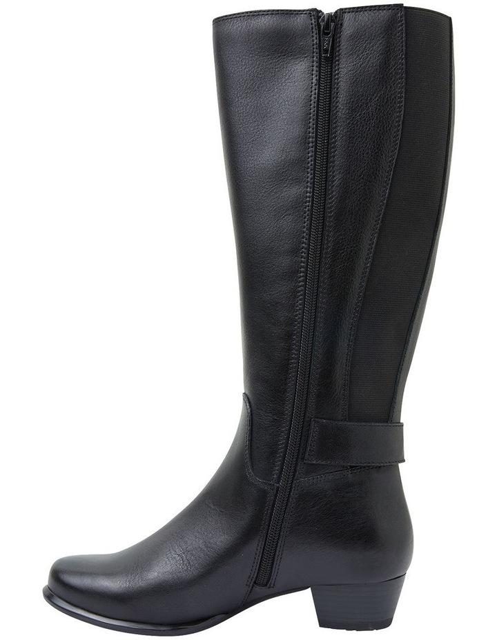 Diesel Black Glove Boots image 3
