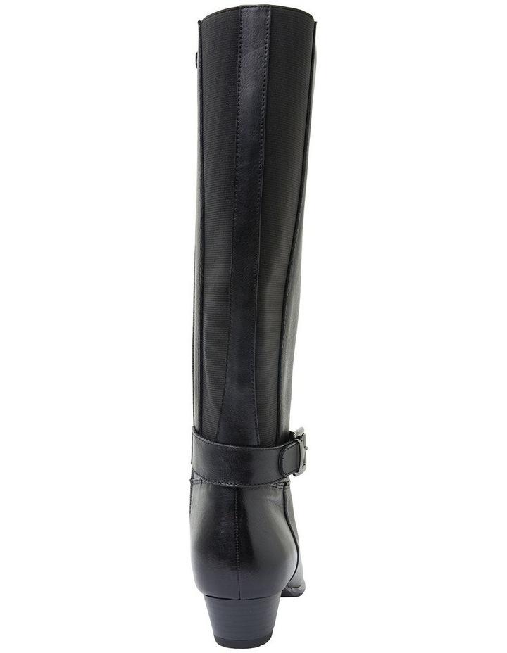 Diesel Black Glove Boots image 5