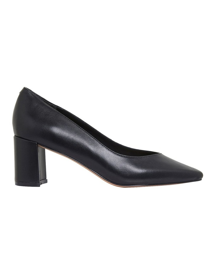 Gallery Black Glove Heeled Shoes image 1