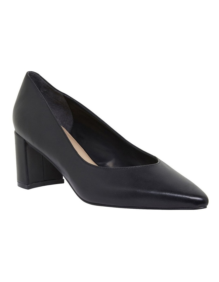Gallery Black Glove Heeled Shoes image 2