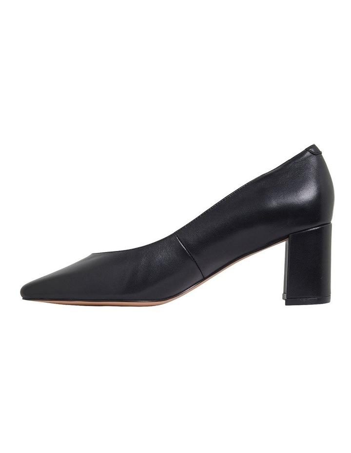Gallery Black Glove Heeled Shoes image 3