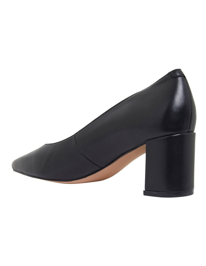 Gallery Black Glove Heeled Shoes image 5