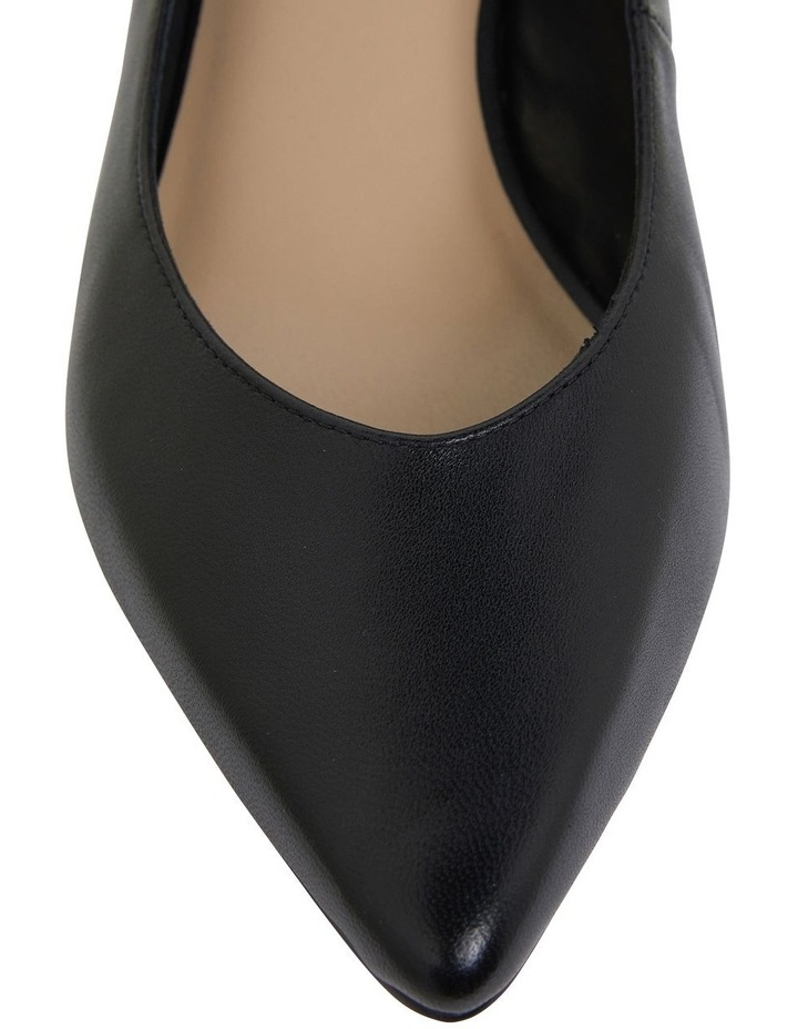 Gallery Black Glove Heeled Shoes image 7