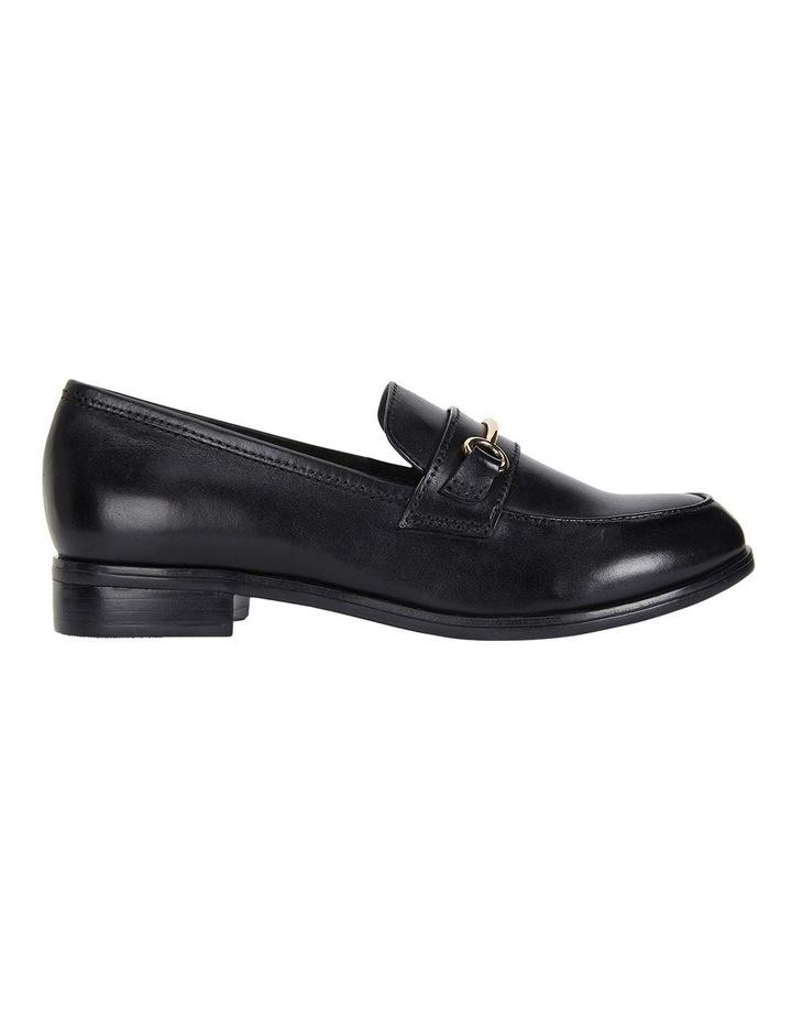 Wallis Black Hi Shine Flat Shoes image 1