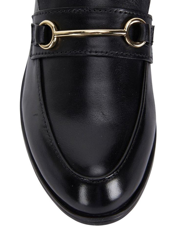 Wallis Black Hi Shine Flat Shoes image 5