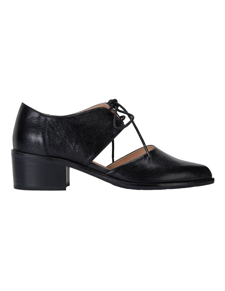 Exhibit Black Oil Heeled Shoes image 1