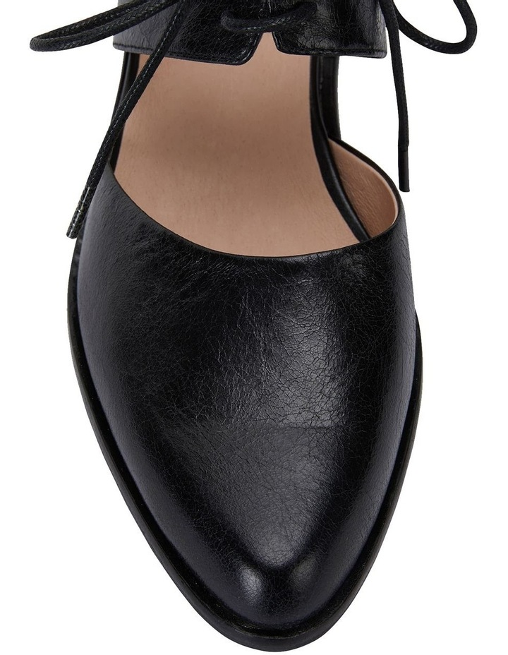 Exhibit Black Oil Heeled Shoes image 6