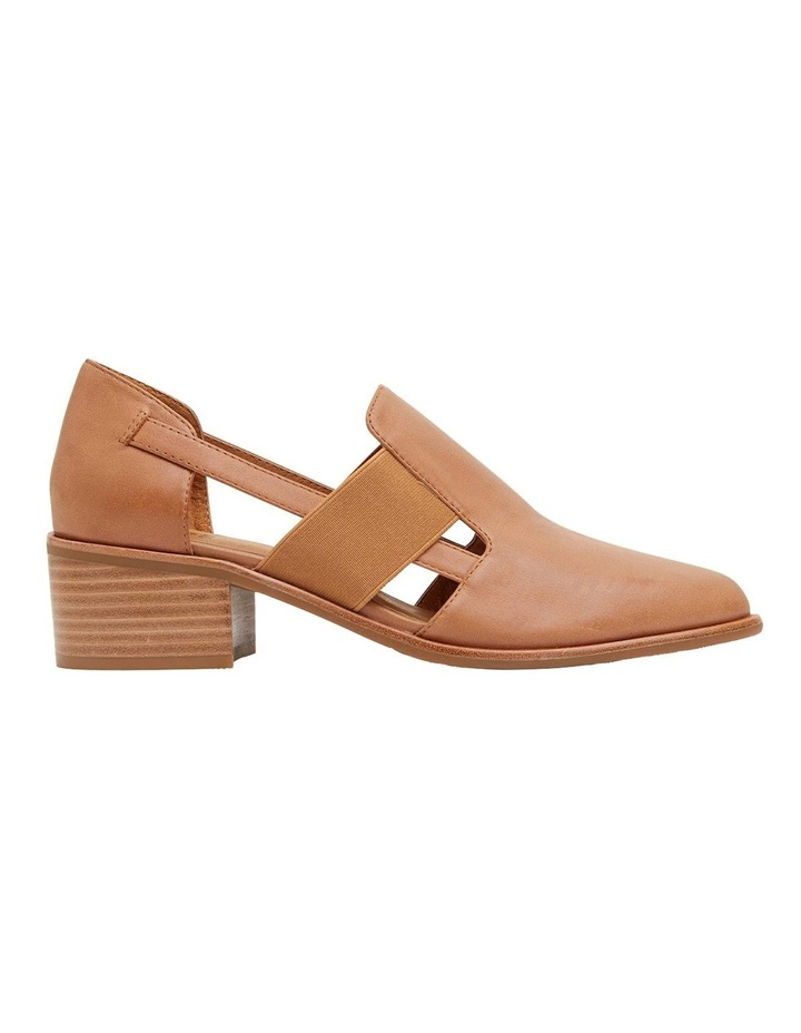 Expose Tan Glove Heeled Shoes image 1