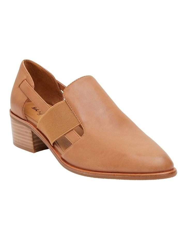 Expose Tan Glove Heeled Shoes image 2