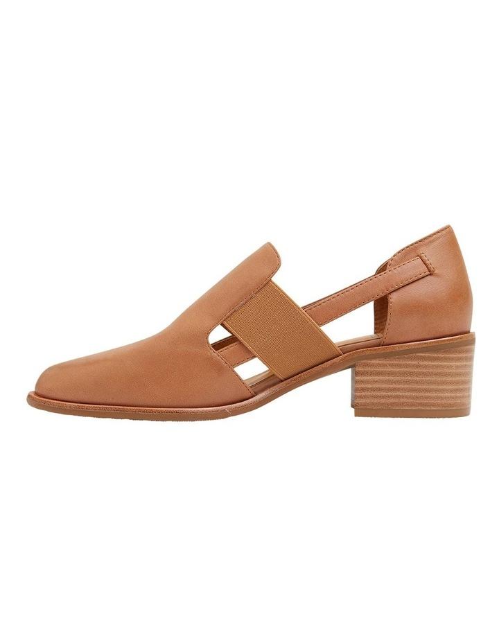 Expose Tan Glove Heeled Shoes image 3