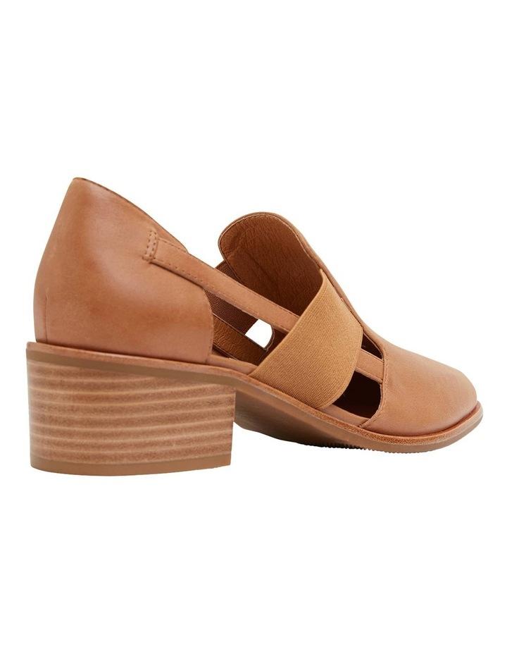 Expose Tan Glove Heeled Shoes image 4