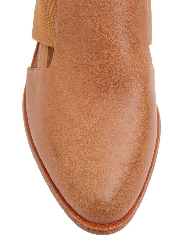Expose Tan Glove Heeled Shoes image 6