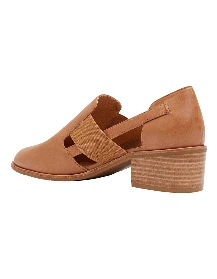 Expose Tan Glove Heeled Shoes image 7