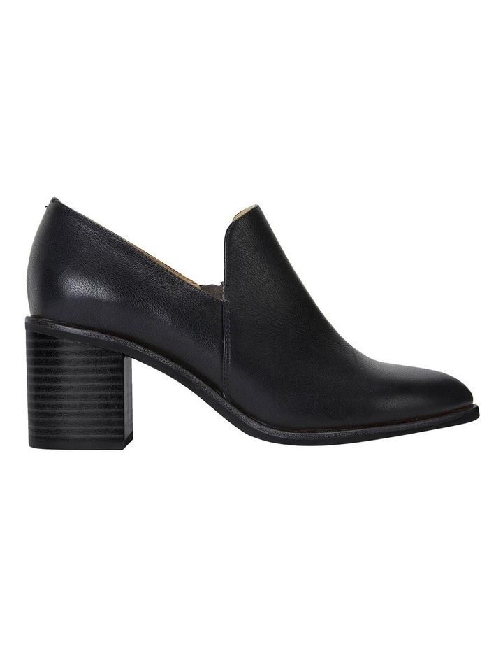 Decade Black Calf Heeled Shoes image 1