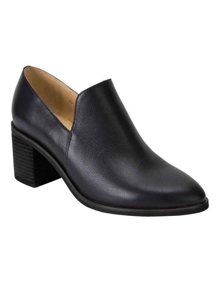 Decade Black Calf Heeled Shoes image 2