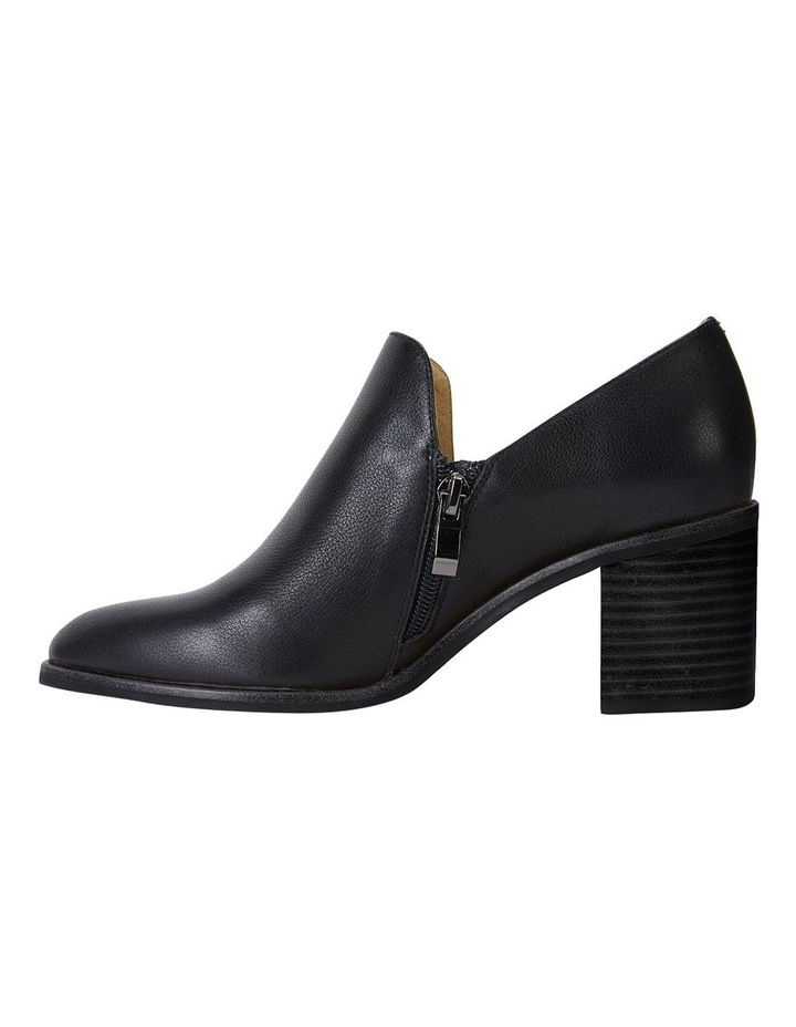 Decade Black Calf Heeled Shoes image 3