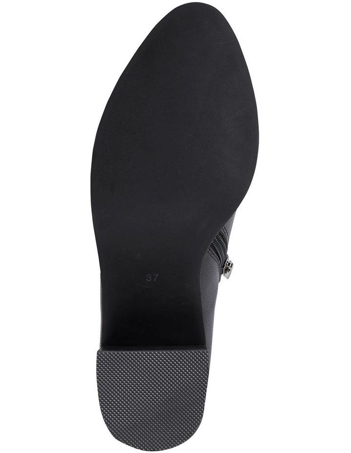 Decade Black Calf Heeled Shoes image 4