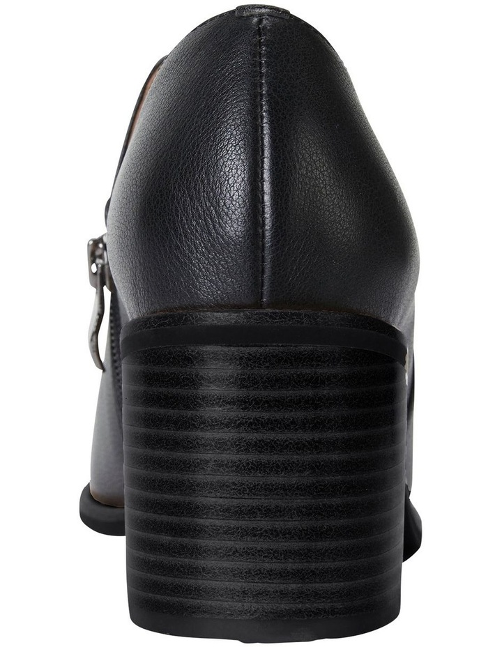 Decade Black Calf Heeled Shoes image 5