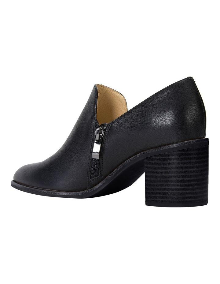 Decade Black Calf Heeled Shoes image 6