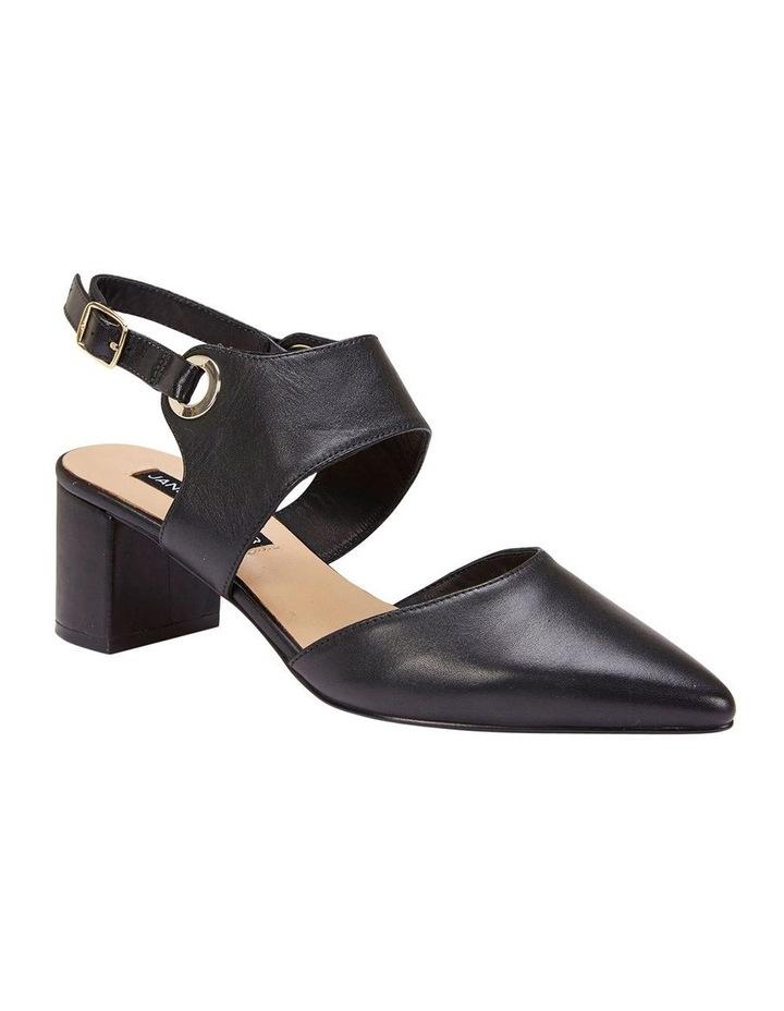 Felicity Black Glove Heeled Shoes image 1