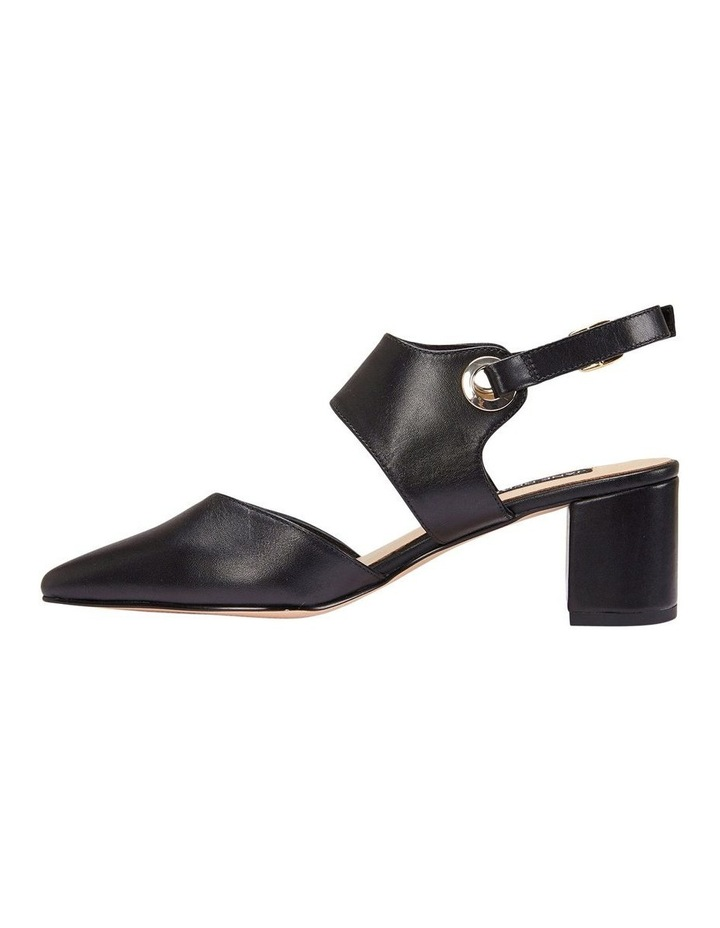 Felicity Black Glove Heeled Shoes image 2
