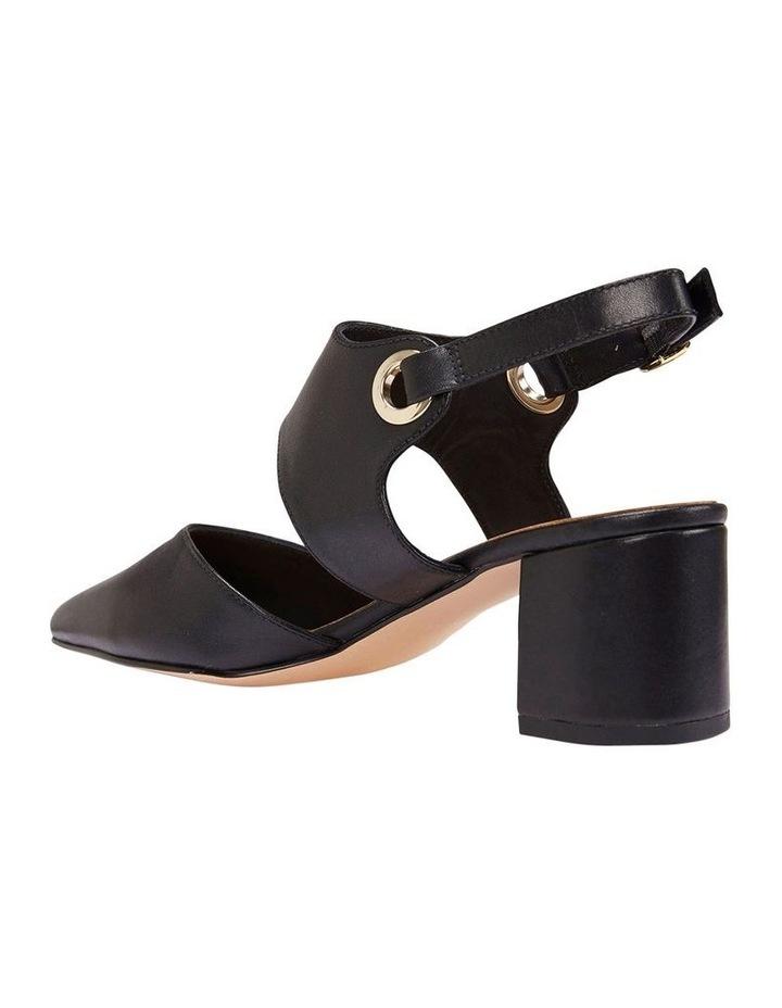 Felicity Black Glove Heeled Shoes image 3
