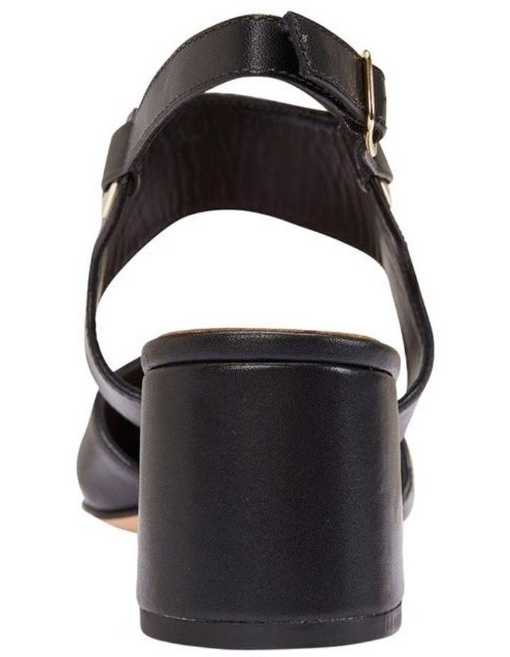 Felicity Black Glove Heeled Shoes image 4