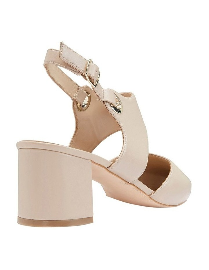Felicity Nude Glove Heeled Shoes image 4