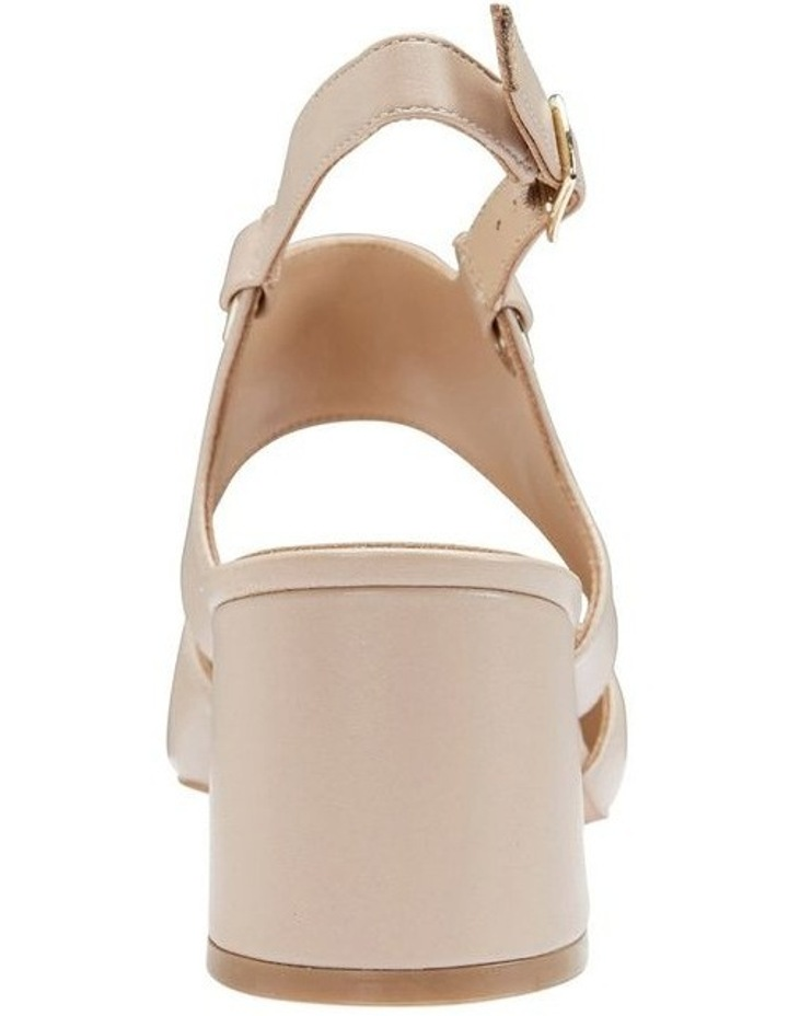 Felicity Nude Glove Heeled Shoes image 5