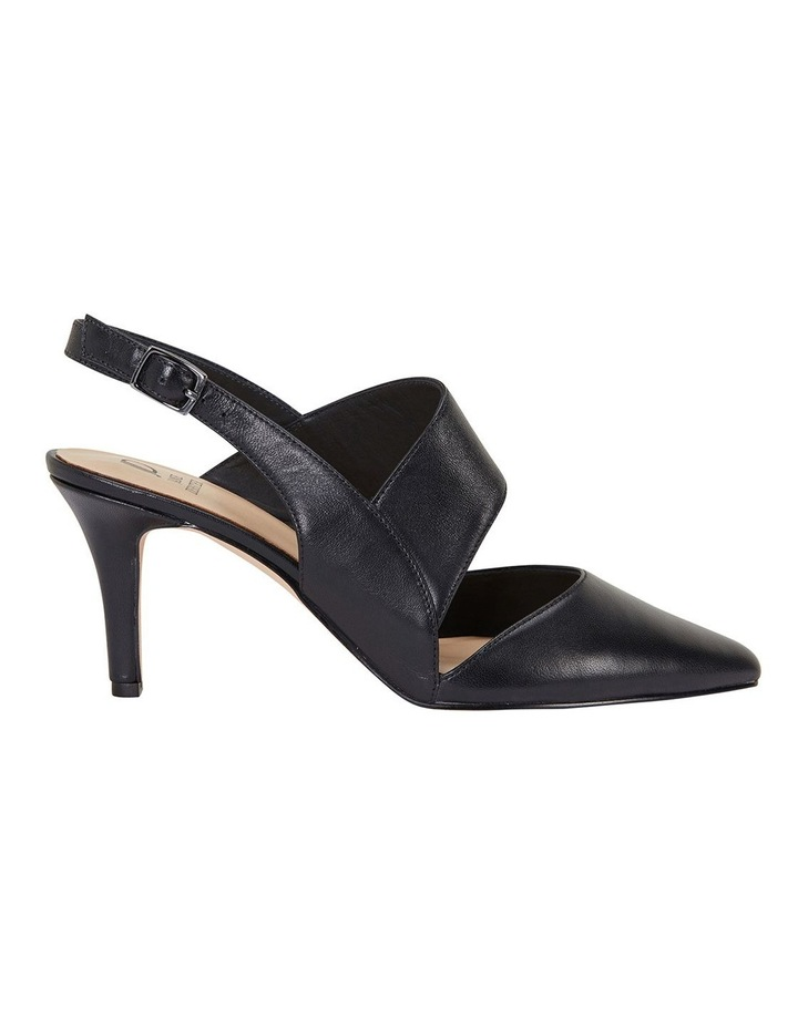 Callista Black Glove Heeled Shoes image 1