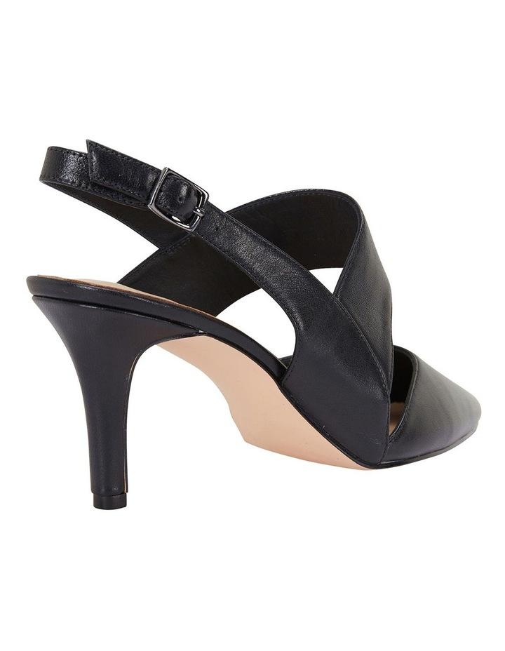 Callista Black Glove Heeled Shoes image 2