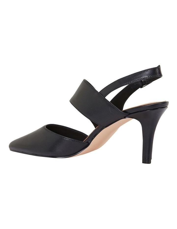 Callista Black Glove Heeled Shoes image 5