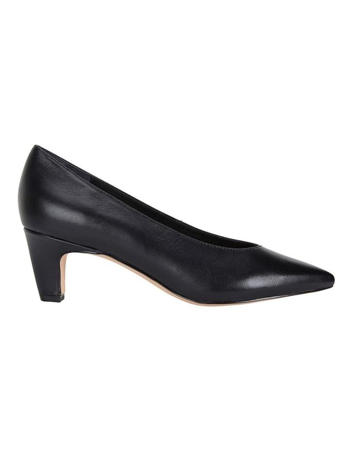 Seduce Black Glove Heeled Shoes image 1