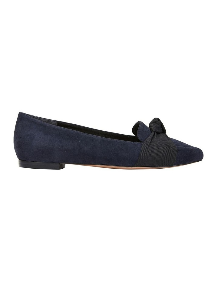 Tango Navy Suede Flat Shoes image 1